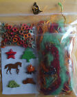 Yehaw Western Eyelets 1 8 Brads cord horse tent tree fire coyote embellishments