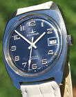 beautiful watch DUGENA 80s steel anchor shaped excellent