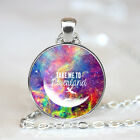 I am a lost girl photo Glass Dome Tibet silver Chain Pendant NecklaceWholesale
