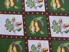 vtg antq Victorian style needlepoint embroidery panel cushion chair seat cover A