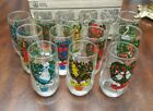 vintage 12 days of Christmas glasses American made Anchor Hocking mint in box