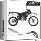 ARROW FULL SYSTEM EXHAUST MINI-THUNDER TITANIUM DERBI SENDA 50 R XRACE 09-15