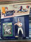 1989-starting lineup- Damon Berryhill figure & collector card, New