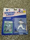 1989-starting lineup figure & card-Shawon Dunston- #12 -Cubs-new