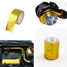 5M Gold Heat Temperature Shield Wrap Tape Protection for Auto Car Turbo Engine