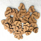 Heart Personalised Pcs i Supply Do Decoration Favours Wedding Wooden Love Sign