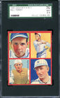 1935 Goudey Bill Terry Jackson Mancuso Schumacher #1K SGC 70 5.5 - Giants
