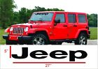 Jeep Decals Jeep Windshield Banner Decal Sticker Wrangler Rubicon Sahara