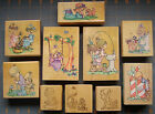 PRECIOUS MOMENTS RUBBER STAMPS YOU CHOOSE RARE HARD TO FIND DESIGN CUTE