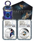 2018 STAR TREK 2 COIN SET DISCOVERY  BURNHAM NGC PF70 FIRST RELEASES