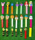 VintageLot of 21 PEZ Dispensers Disney Snowman Bee Witch Made Hungry Slovenia