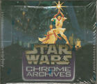 Star Wars Chrome Archives Trading Card Box - Topps