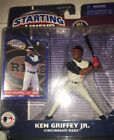 STARTING LINEUP 2 KEN GRIFFEY JR CINCINNATI REDS NIB