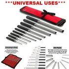 Roll Pin Punch Set Pouch Steel Removal Tool Kit with Case for Gunsmithing Metal