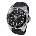 Seiko Prospex SKA371-P2 Kinetic Automatic 200M Black Dial Diver with Band (Mint)