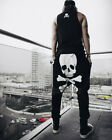 USA Seller: Men's Skull Harem Baggy Pants, Casual Pants, Fashion Pants, Jogger