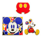 NIP Disney Mickey Mouse Memories MARCH 2018 Mickey PIN Set Limited Edition