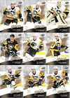 PITTSBURGH PENGUINS 2017-18 UD MVP TEAM SET 9 CARDS STANLEY CUP CHAMPIONS