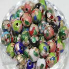 2050pcs Cloisonne Enamel Round Spacer Loose Bead Jewelry Finding 68mm