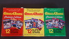 BASEBALL COLLECT A BOOK CARDS COMPLETE 1990 SET OF 3 BOXES PREMIER EDITION