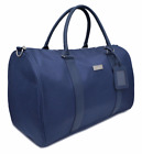 NEW Lacoste Navy Blue Weekend Travel Gym Holdall Duffle Bag