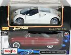 Lot 2 New Nib Maisto Diecast 118 Cars 1950 Ford + Ford Gt90 Special Edition