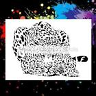 Leopard Large Airbrush StencilTemplate
