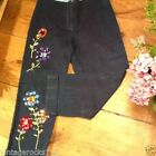 Ladies vintage jeans 1950s rockabilly waist 26