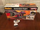 Hot Wheels Sizzlers Extended Eight Race Track Set Complete Plus Power Pit
