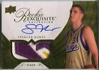 2007-08 Exquisite Gold Parallel SPENCER HAWES Auto Patch RC Rare 31 BGS RCR 8.5