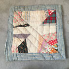 Antique Quilt piece - great for crafts or pillows Vintage!