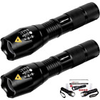 LuxPower Tactical V1000 LED Flashlight [2 PACK] – Best High Lumen Handheld Light