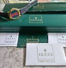 Gucci 3000m Green Red Mens Swiss Watch + Boxes Manuals