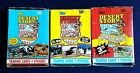3 Box Lot 1991 Topps Desert Storm Trading Cards Stickers Wax Boxes 3 Series
