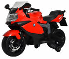 BMW 12v red motorcycle kids ride on toy mini bike battery power wheels electric