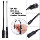 2 x Dual-band 144/430MHz NA-701 SMA-Male Radio Antenna for Yaesu 6 7 8R / ICOM