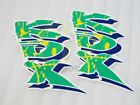 Motorcycle Fairing Sticker Decal for Kawasaki KDX 125 200 250 400 450 #gt