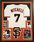 FRAMED KEVIN MITCHELL AUTOGRAPHED SIGNED INS SAN FRANCISCO GIANTS JERSEY JSA COA