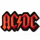 AC DC Embroidered Sew Iron on Patch Badge Punk Rock Metal 027