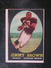 1958 Topps #62 Jim Brown Rookie Cleveland Browns G VG (great for autograph)