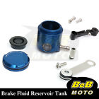 For Suzuki SV 650 S 03 04 05 06 07 Blue CNC Front Brake Cylinder Fluid Oil Tank