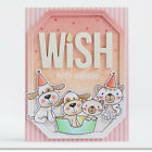 Lucky Dog Metal Cutting Dies Stencil Embossing Scrapbooking Paper Card Making
