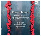 Graham Ross / Cambrigde Choir Of Clare College / + - Remembrance CD Harmoni NEU