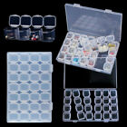 28 Slots Diamond Painting Access boxes Case Jewelry Bead Storage Craft Organizer