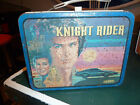 Vintage Lunch Box 1982 1983 Knight Rider Metal Lunchbox no thermos
