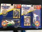 LOT OF 2 STARTING LINEUP- 1991 Extended - DAVID JUSTICE & BO JACKSON