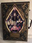 Disney Villains Stained Glass Book Clutch Handbag Bag Purse Loungefly NWT