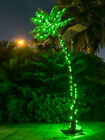 7 Feet 96LED Lighted Palm Tree for Home Party Christmas Nativity Pool Decoration