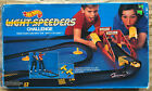 1989 Vintage Hot Wheels Light Speeders Challenge toy car race track set
