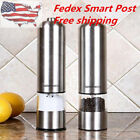 Automatic Electric Stainless Steel Pepper Salt Grinder Spice Sauce Muller Mill